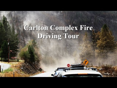 Carlton Complex Driving Tour