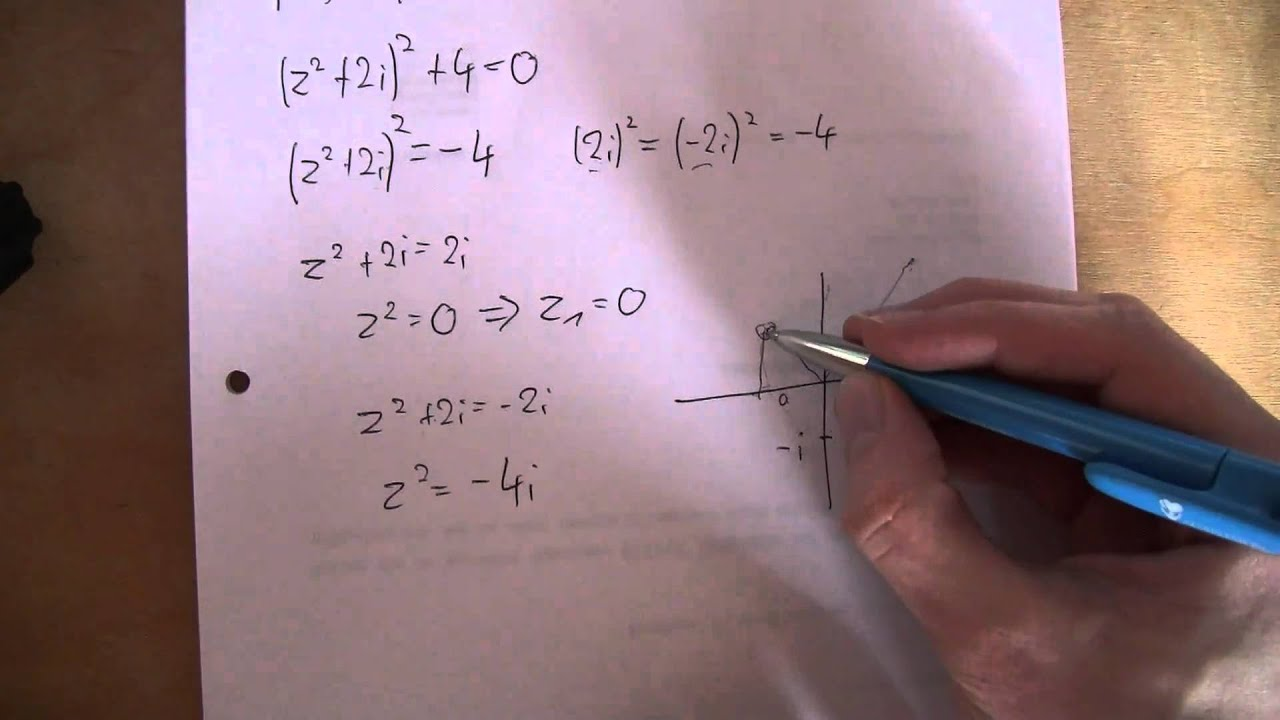 mathematik nullstellen eines komplexen polynoms youtube. Black Bedroom Furniture Sets. Home Design Ideas