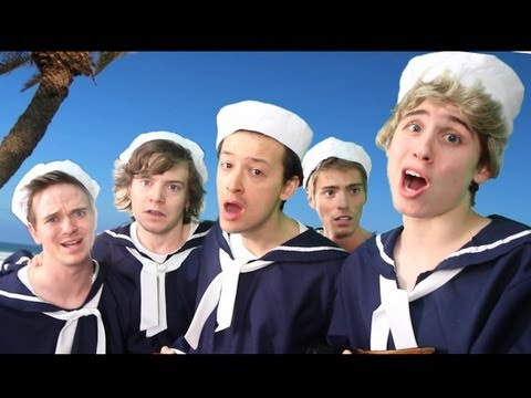 One Direction - Kiss You Parody!! Key Of Awesome #67 video