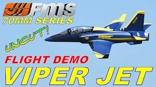 FMS VIPER JET 70MM FIRST FLIGHT DEMO BY: RCINFORMER