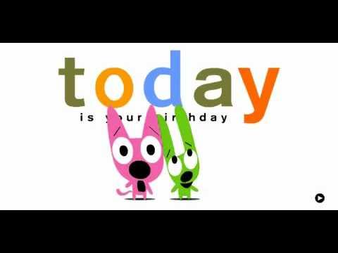 Hoops & Yoyo - Happy birthday