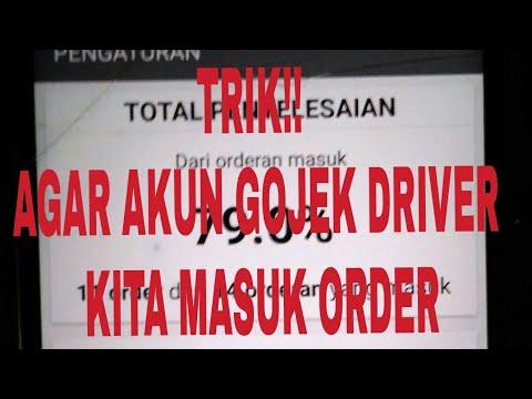 TRIK Dan CARA!! AGAR AKUN GOJEK DRIVER  KITA MASUK ORDER By Si Penikmat