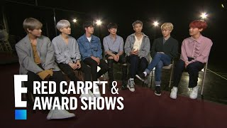 BTS Boys Reveal Fans' Weirdest Requests and More! | E! Red Carpet & Award Shows