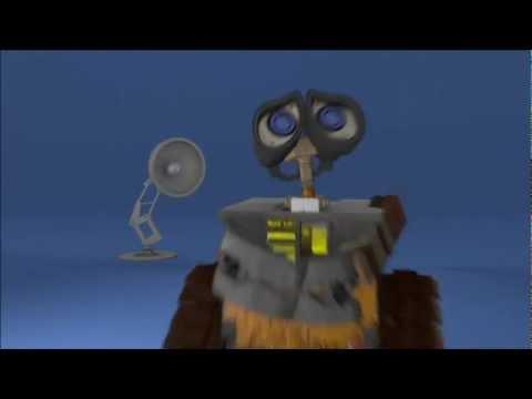 Wall E Et Luxo.Jr / 3D Animation