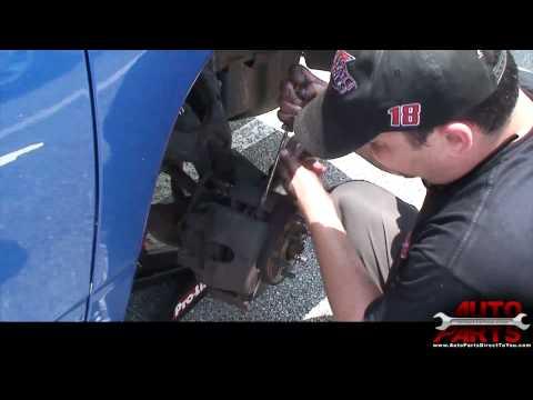 1999 Dodge Dakota Brake Pads and Rotors Repair Part 1