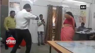 महिला एवं बाल विकास विभाग में अधिकारियो का वीडियो हुआ वायरल