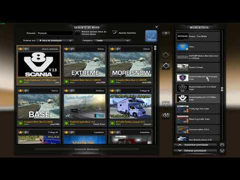 Euro Truck Simulator 2 - Pacote de Mods 1.30