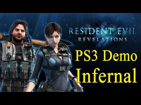 Resident Evil: Revelations (PS3 Demo: Infernal Mode No Damage)