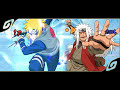 Naruto Shippuuden: Narutimate Accel 3 - PSP- Personagens + Gameplay
