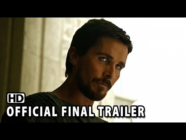 Exodus: Gods and Kings Official Final Trailer (2014) - Christian Bale HD