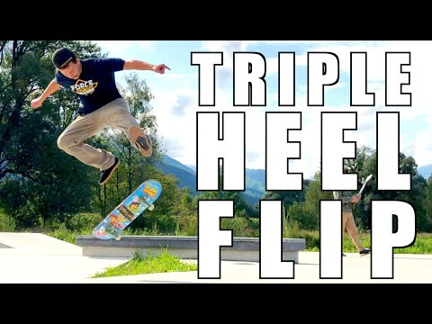 Triple Heelflip | Impossible Tricks Of Rodney Mullen