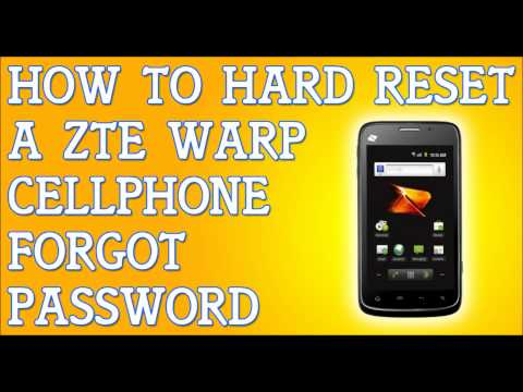 memory how to factory reset zte v768 also, you