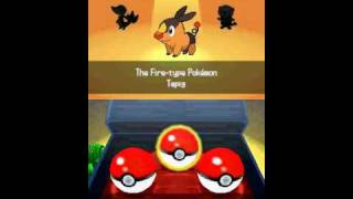 How to Get a Shiny Starter (SR) in Pokemon Black or White