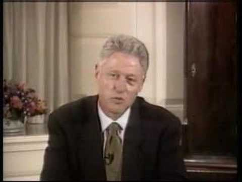 "Bill Clinton, while being questioned about Monica Lewinsky, brilliantly sends the questioning in a new direction. To determine the meaning of the word ""is"". ..."