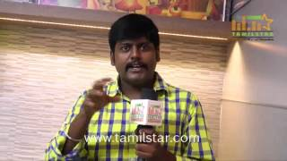 Kumki Ashwin At Jigina Movie Team Interview