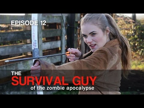 Survival Guy: How to Make a PVC Bow - Ep. 12