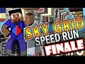 Minecraft SKY GRID SPEED RUN #6 'FINALE!' with Vikkstar (Mine...