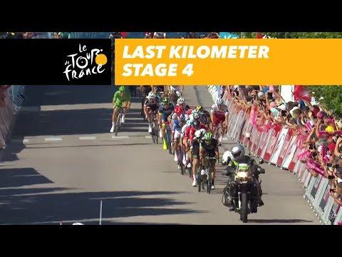Last kilometer - Stage 4 - Tour de France 2017
