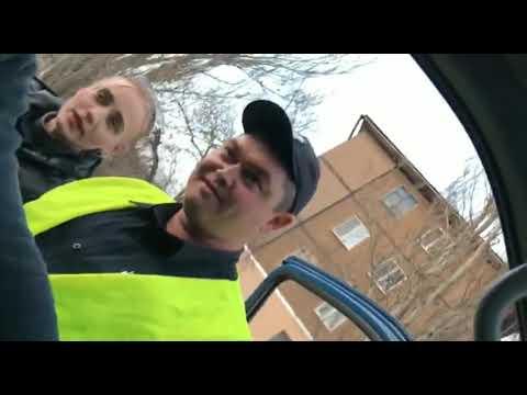 Быдло Середович и модная гопница Карпинова с полиции Херсона
