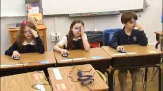 Video game detects vision problems in kids