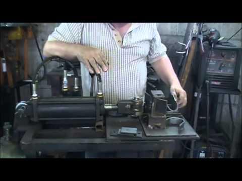 Demonstrating My Homemade Metal Bending Press Part 2 - Bending Radius