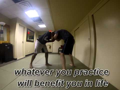 Basic Clinch drills for Boxing or Kickboxing and street application the Life Sensei Image 1