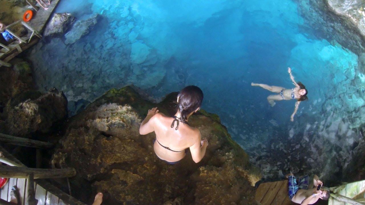 Cap Cana Hoyo Azul And Zipline Punta Cana Tours Youtube