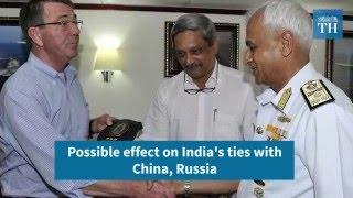 LEMOA: India, US agree to share military supplies