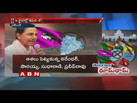 TRS women leaders Eye on Pending assembly seats