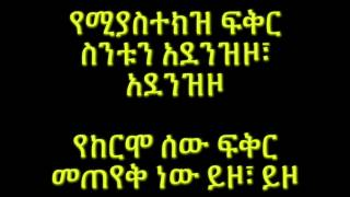 Munit & Jorg - Yekermo Sew የከርሞ ሰው (Amharic With Lyrics)