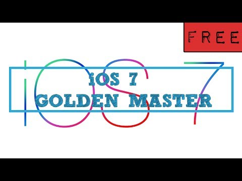 iOS 7 GM (GOLDEN MASTER) FREE Download links and How To Install Tutorial
