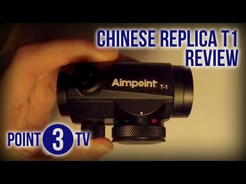 Point3TV • Replica Aimpoint T1 (from redstar1689) Unboxing/Review