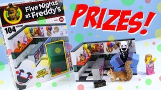 Five Nights at Freddy's 2 Prize Corner with The Puppet McFarlane Construction Sets