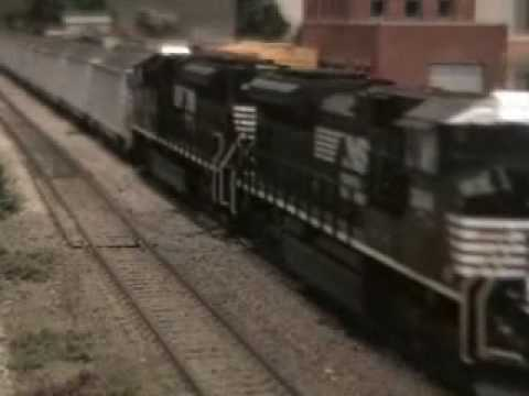 Norfolk Southern NS SD70M-2 Athearn Coal Train MTH HO model train