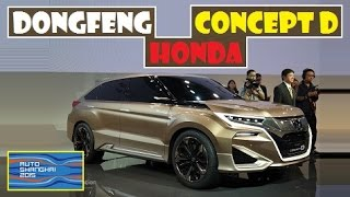Dongfeng Honda Concept D, live photos at Auto Shanghai 2015
