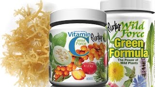 Collagen Kit by Wild Force- Natural Skin Collagen Builder w Vitamin C