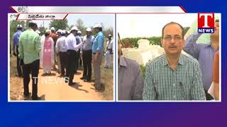 Telangana State All Districts Collectors Visits Siddipet District  live Telugu