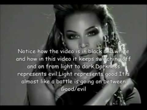 "Beyoncé - ""Single Ladies"" (Reversed with Illuminati message)"