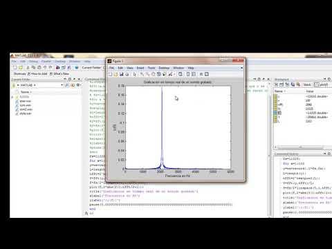Grabacion y Graficacion de Audio En Tiempo Real con Matlab