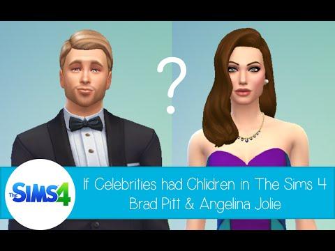 If Celebrities Had Children In The Sims 4: Brad Pitt & Angelina Jolie video