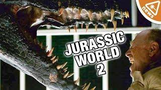 First Look at Jurassic World 2's Mysterious Villain! (Nerdist News w/ Amy Vorpahl)
