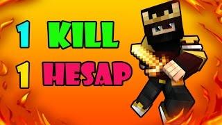 ► 1 KİLL 1 PREMİUM HESAP CHALLANGE !! (Minecraft Survival Games 171)