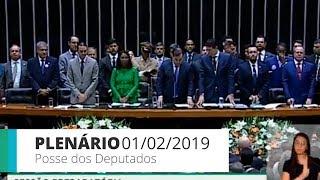 PLENÁRIO - Sessão Preparatória - Posse dos Deputados Eleitos - 01/02/2019 - 10:37