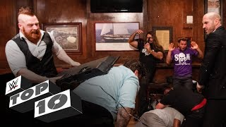 Restaurant rumbles: WWE Top 10, Nov. 3, 2019