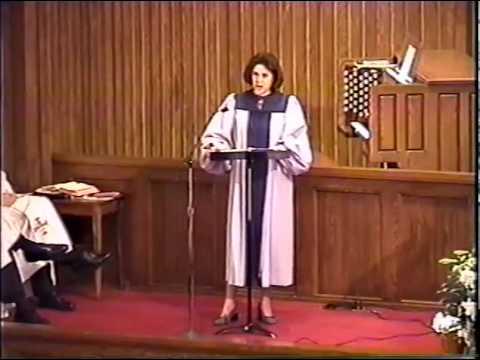 They Could Not -- Sandi Patti:  Vocalist:  Sheri Sullivan video