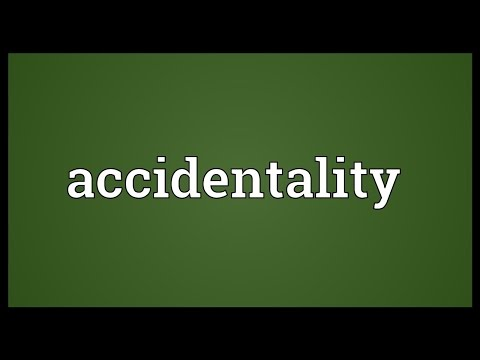 Header of Accidentality