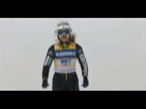 Ski jumping World Cup 2016 Ladies. Oslo  New world record 137.5m. Sara Takanashi (JPN)