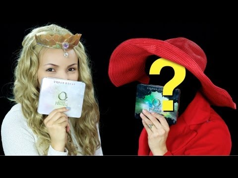 Blindfolded Make-up Challenge with a Mystery Guru !!!!