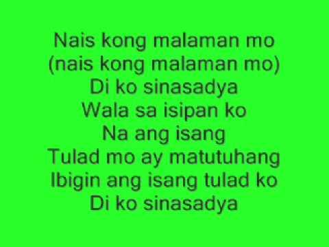 fixing a broken heart(tagalog version)-di ko sinasadya