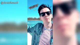 Dan & Phil - Instagram Story Compilation (August 21st 2018)